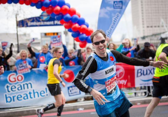 British Lung Foundation at the London Marathon 2016 by Brendan Foster Photography -® 2016-1